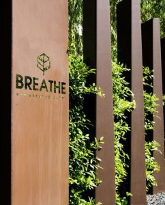 Breathe interior restaurant