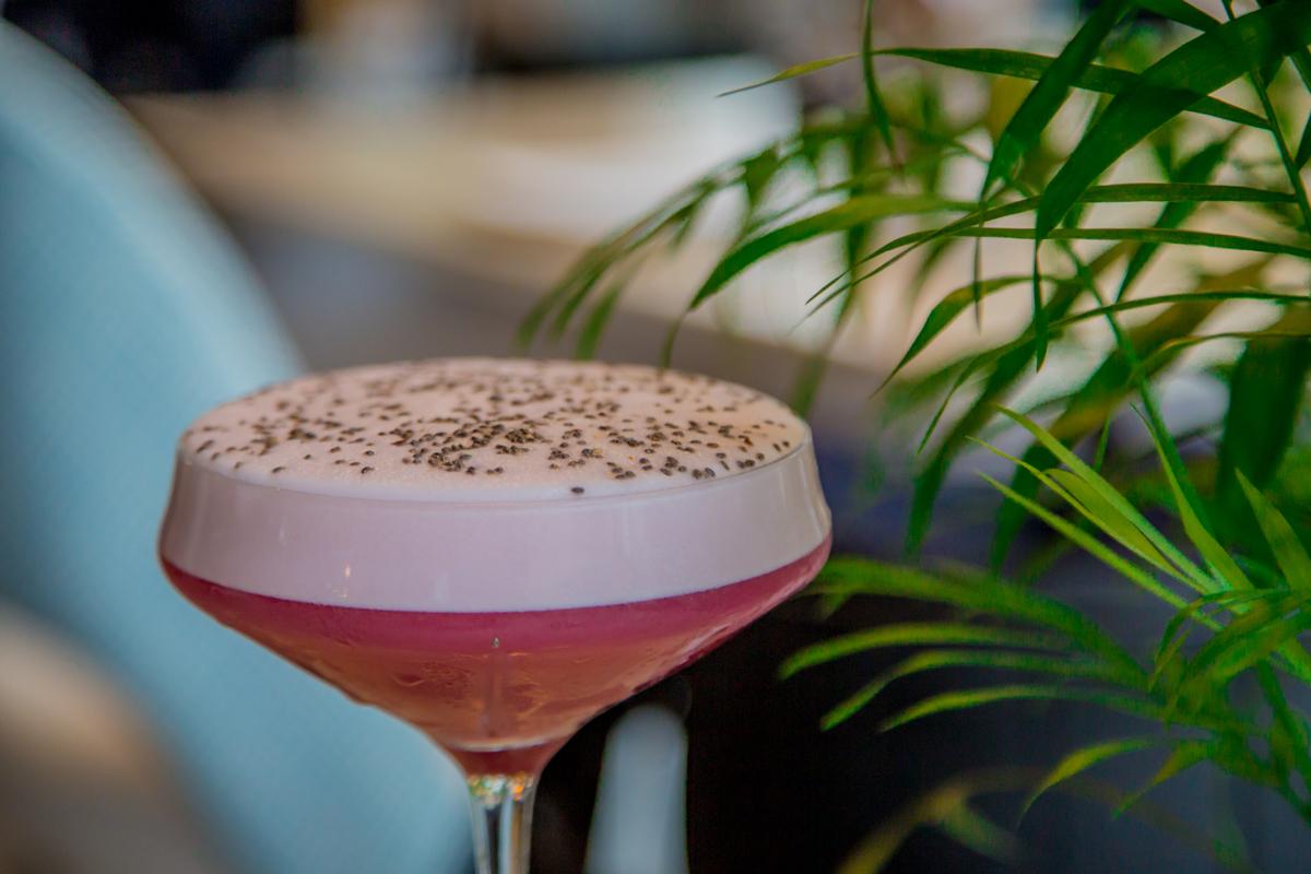 Breathe Marbella / chia cocktail